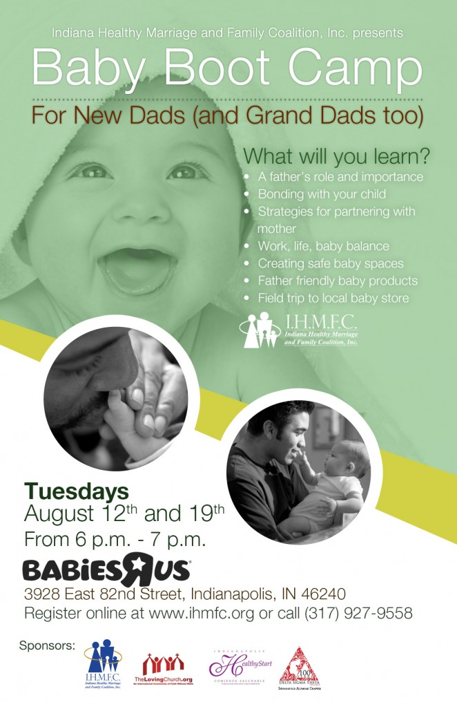 Baby Boot Camp for New Dads and Grand Dads too